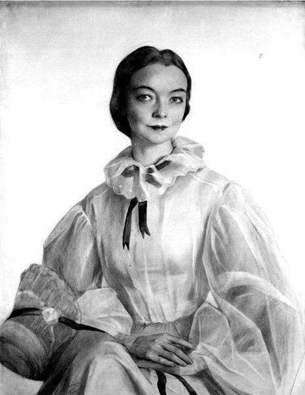 Портрет Лилиан Гиш. 1932 г. Фото