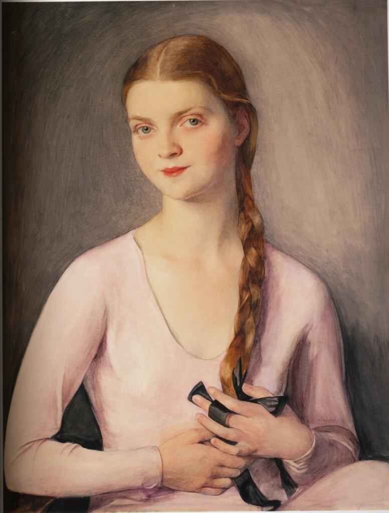 Марина Шаляпина - Фредди. 1931 г.