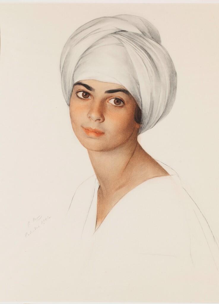 69.8 Портрет Маргарет -Дороти ''Нин'' Кон 1921