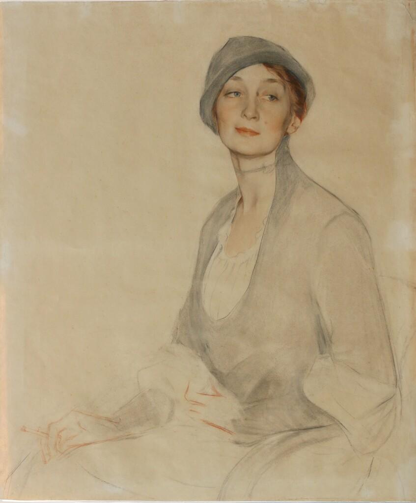 98.8б портрет артистки Л.Х.Дроботовой 1916 (2)