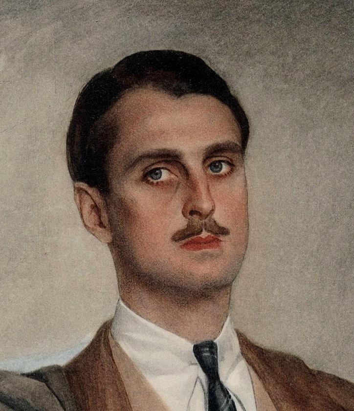 Портрет Сергея Оболенского1929