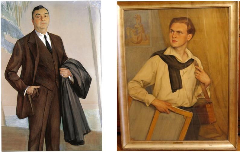 Портрет Джона Ринглинга. 1927