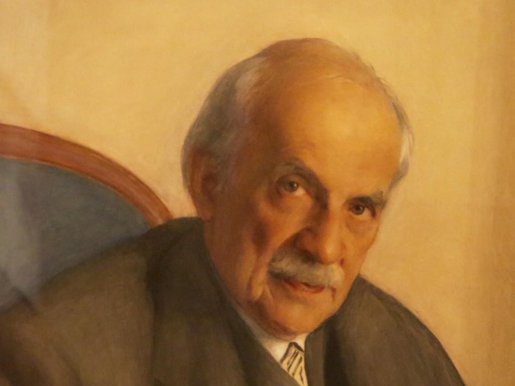 37.1 Портрет Александра Бенуа.1946