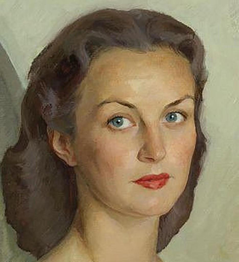 54.1 портрет Вивьен Ли-х.м .47.5x46...