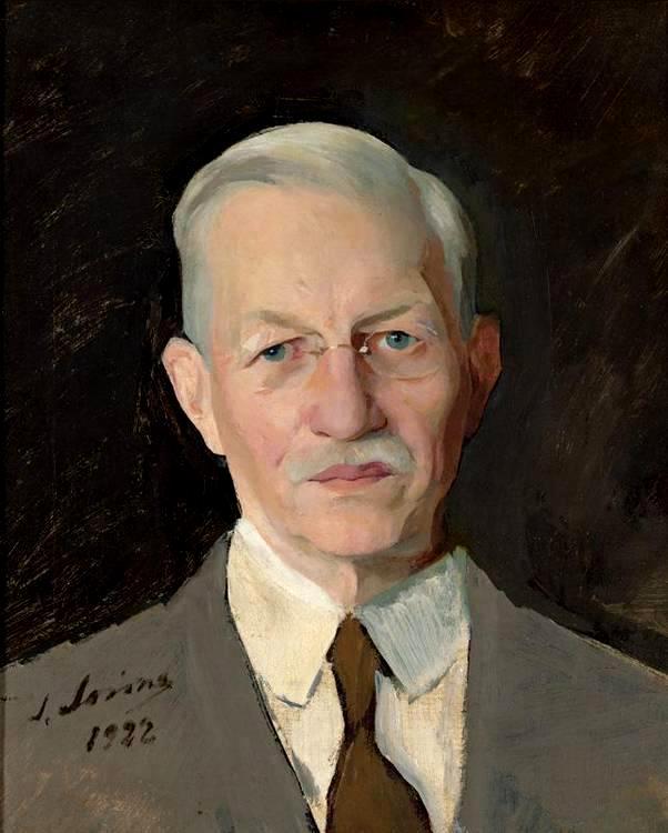 57 портрет Павла Николаевича  Милюкова 1922 х.м.46.4x38.1