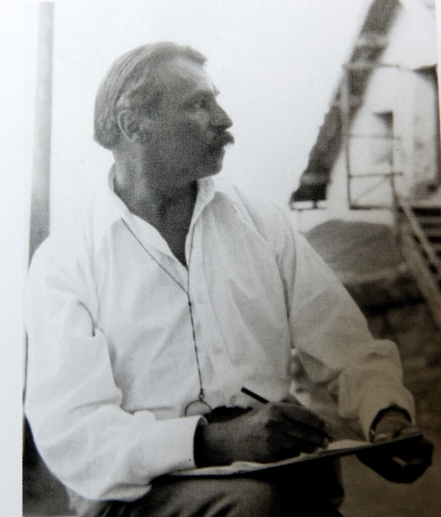 С. Сорин рисует. 14 сент. 1929 г. Антибы
