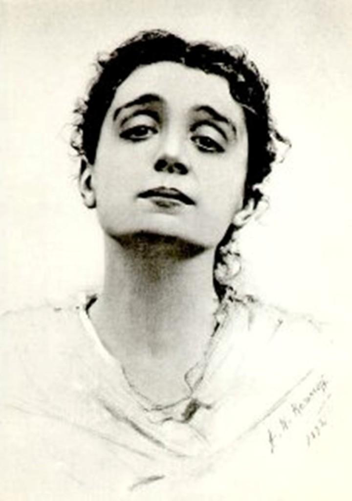 Фото  Элеонора Дузе (1858-1924)