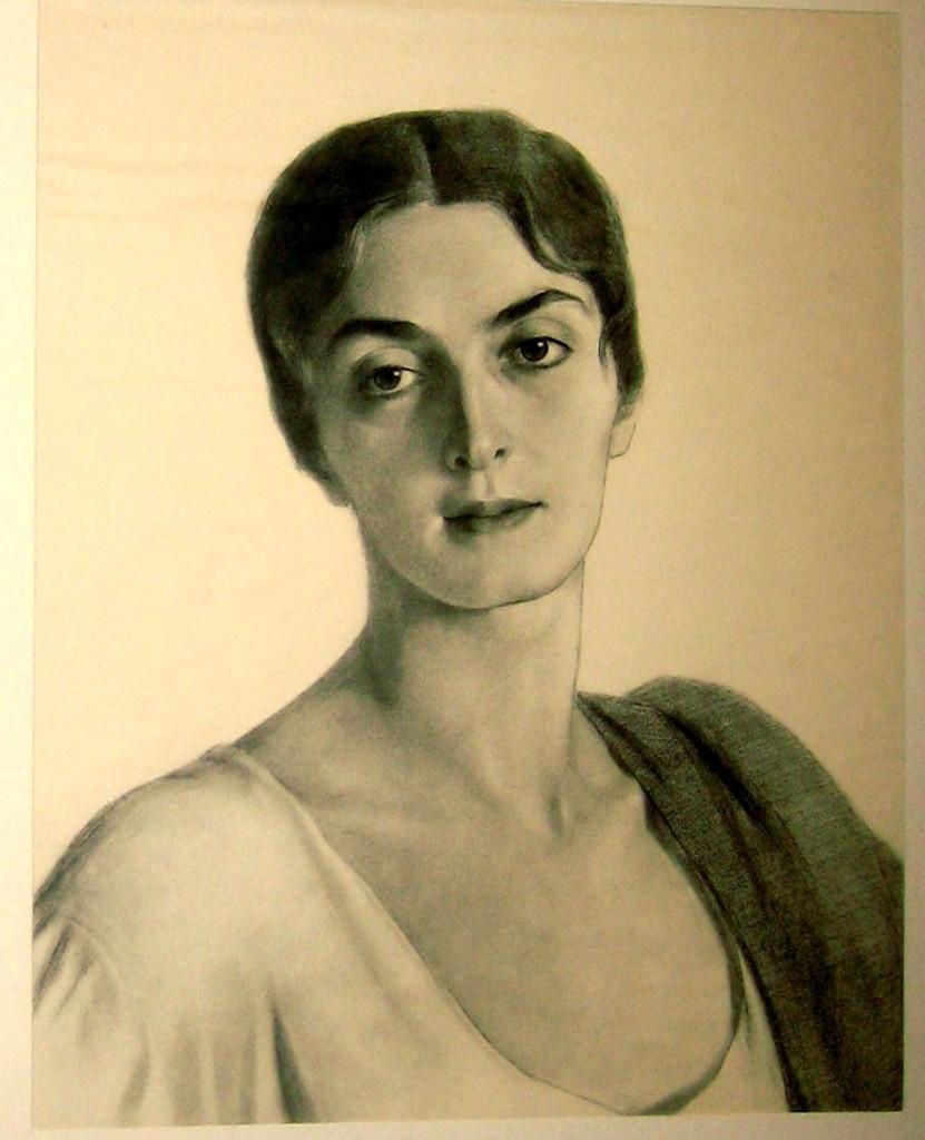 13 Княжна Мери. МарияПрокофьевна Эристова-Ширвашидзе-Чачба-фрагмент