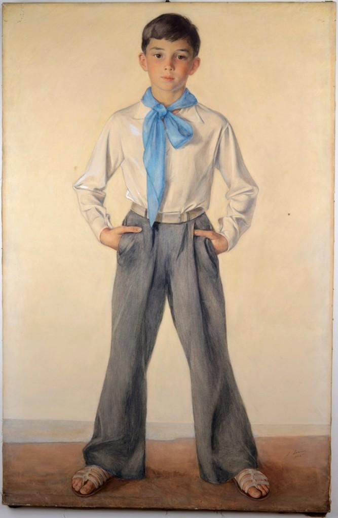 Портрет Павла Сорина-племянника художника 1933 Госэрмитаж .JPG