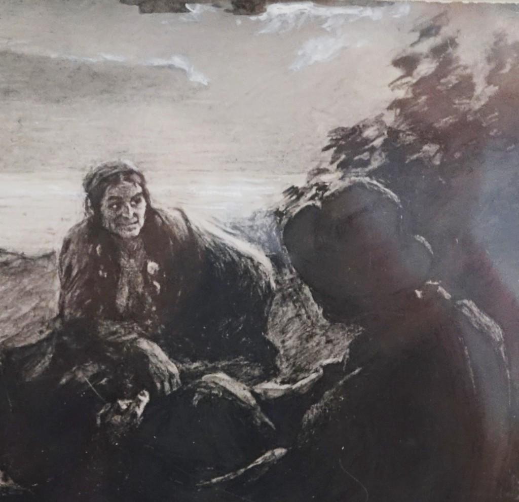 164.2. Старуха Изергиль 1902. Муз.Горьк.Москва .JPG