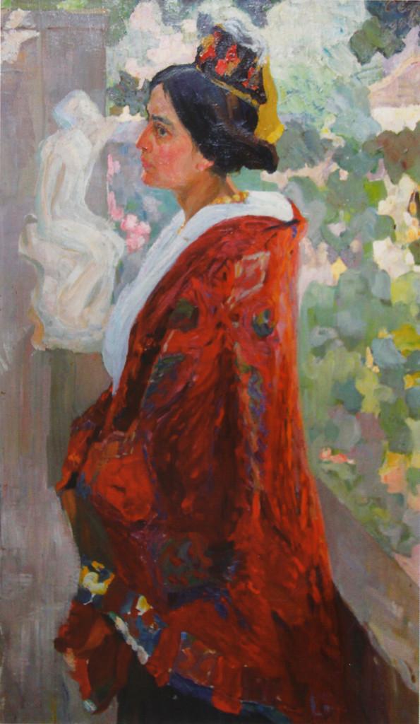 Женский портрет 1910-е.