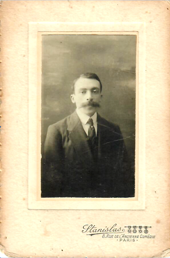 Нохем Абрам-Израилевич (Константин) Сорин. Париж. Фото 1920-х годов