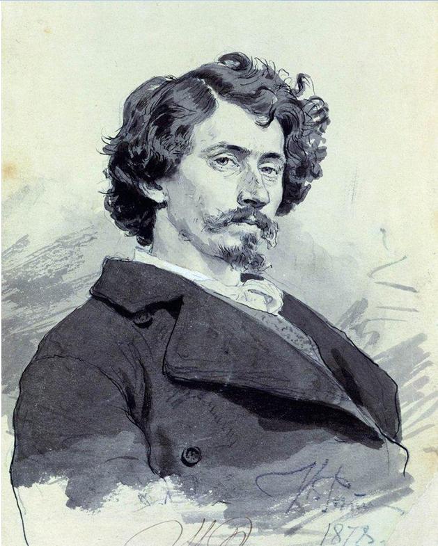 И. Е. Репин. Автопортрет. 1878 г.