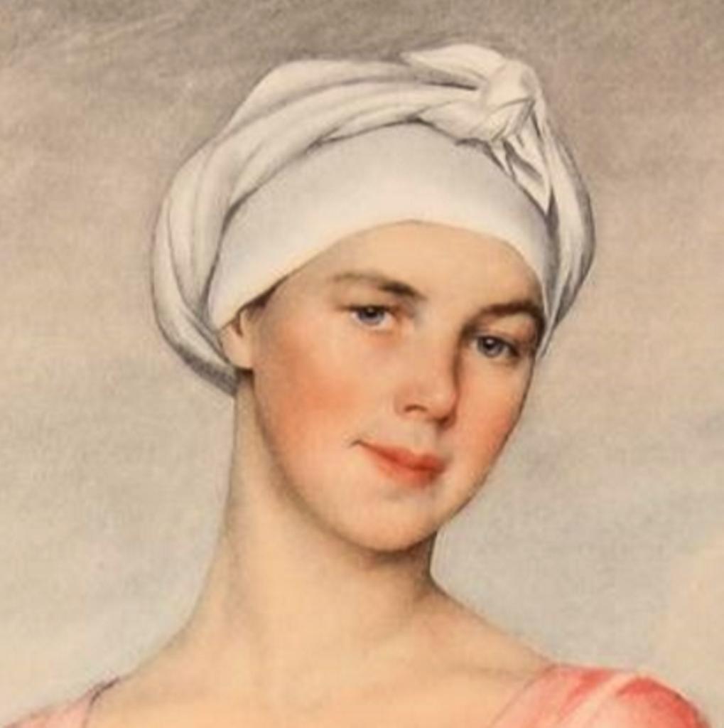 Волжская 4 Женщина с кувшином(портрет А. Кашиной-Евреиновой) 1925 55'88x43'18 Бостон США