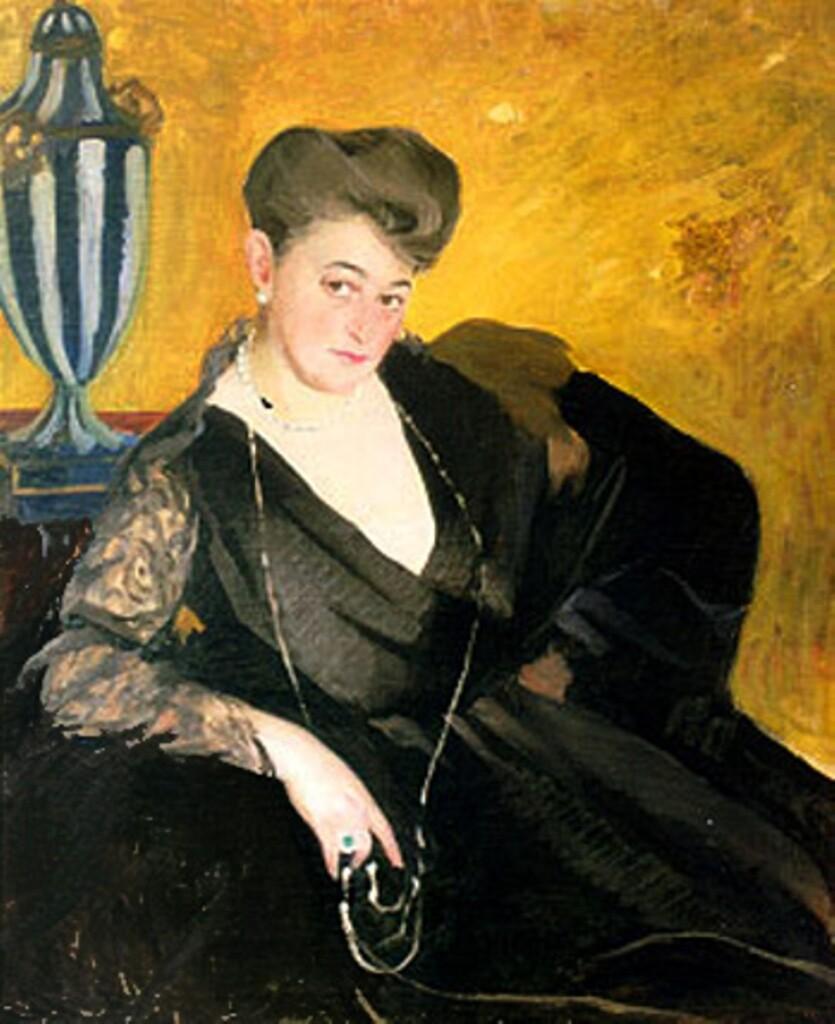 Савелий Сорин. Портрет неизвестной. Середина 1910-х Нижний Новгород ГХМ
