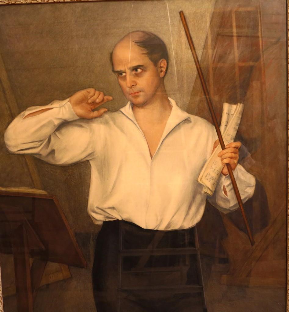 Портрет М. Фокина.1928.