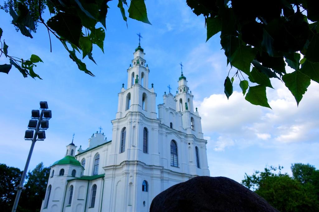 Полоцк. Софийский собор 11-18 век.  Фото автора