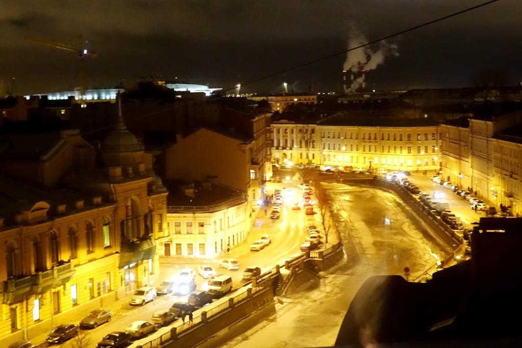 Вид на канал Грибоедова (бывший Екатерининский) из окна квартиры-студии, где жил Савелий Сорин.