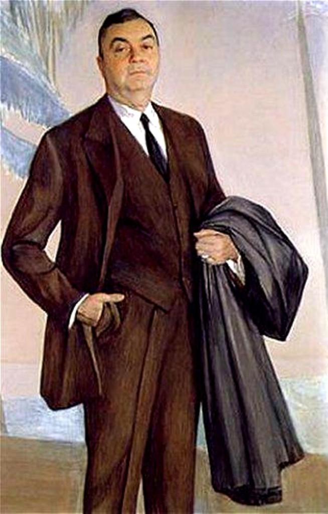 Portrait o f  John Ringling 1927  317x492 бум. акв.