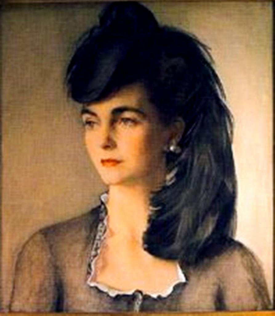 Портрет Варбары Хаттон (Вулворт)1940