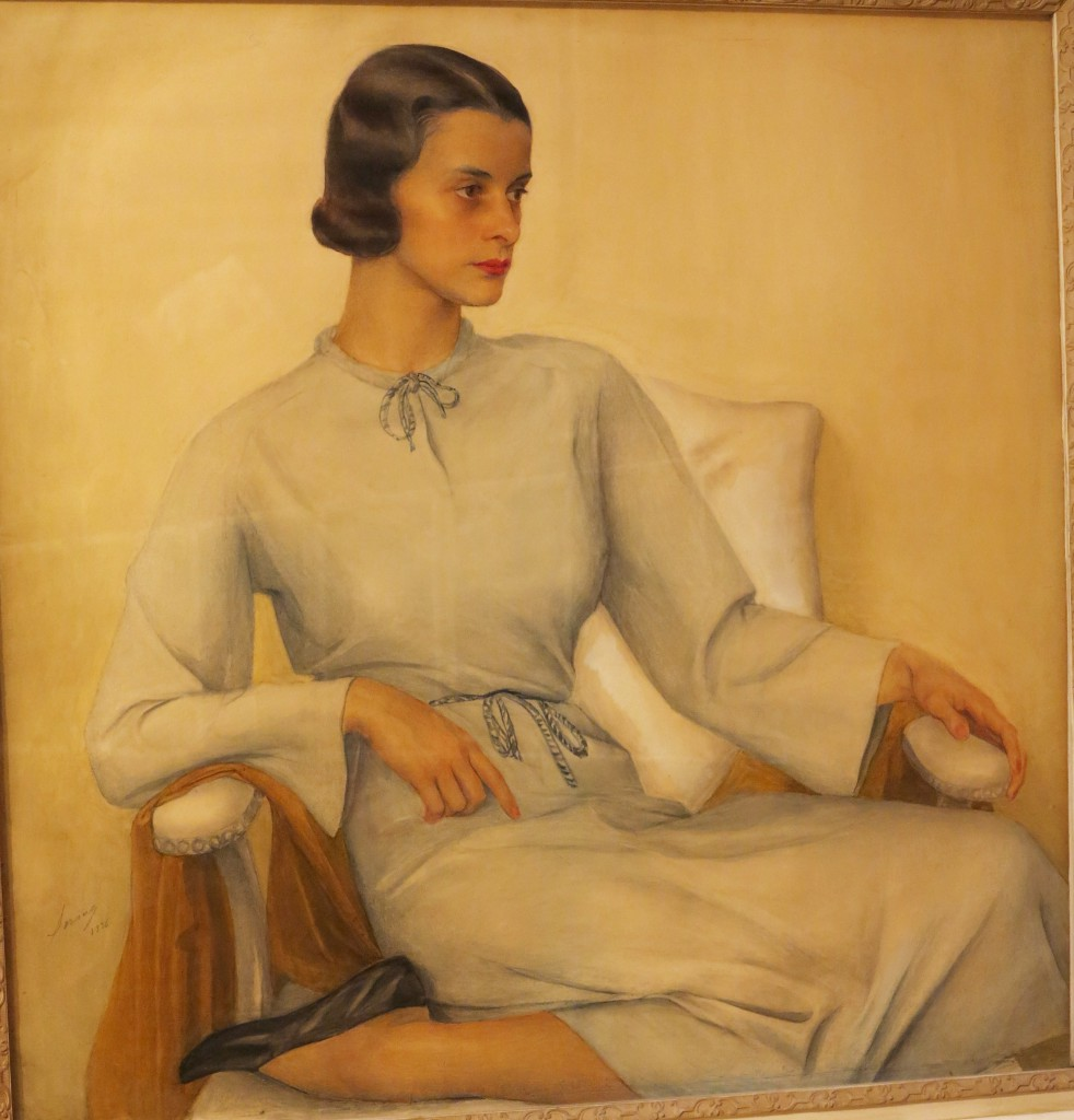 Портрет В.К.Сомовой 1936 ГРМ