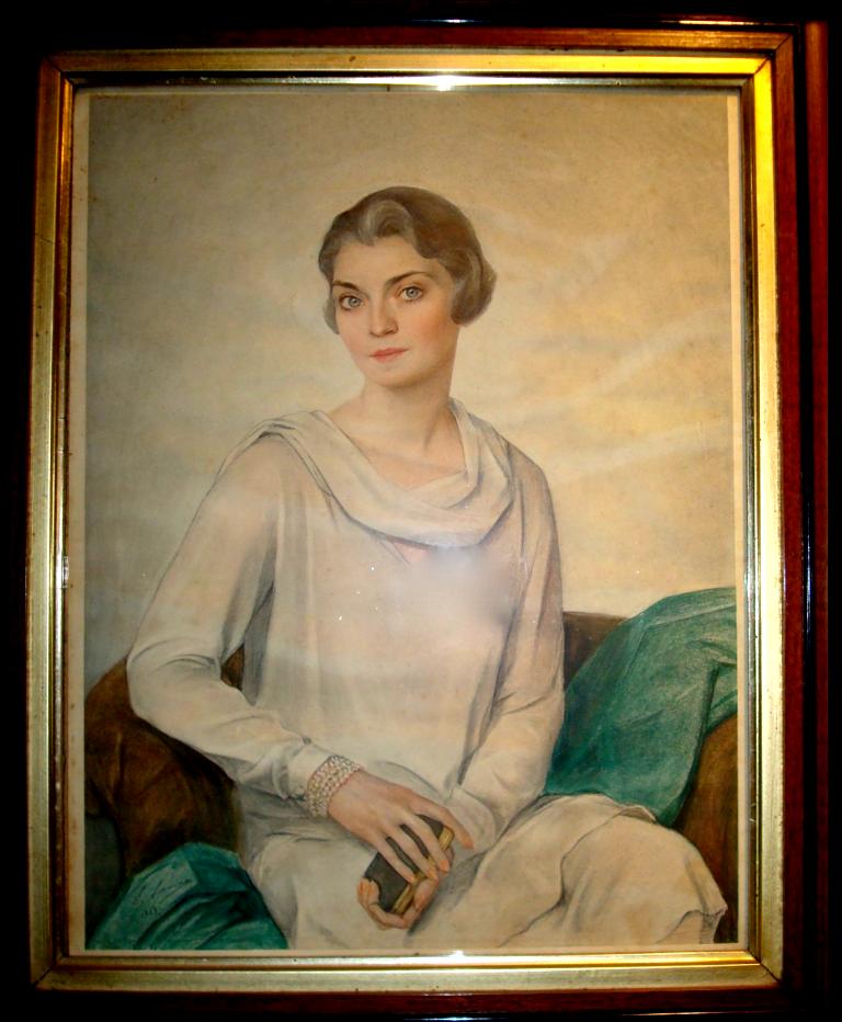 Портрет Моны Харрисон Вильямс 1929 (Margaret Edmona Travis Strader; 1897-1983), - Mona von Bismarck (вариант)