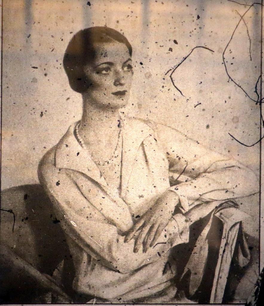 Mrs.David Bruce 1932 (страница журнала США)