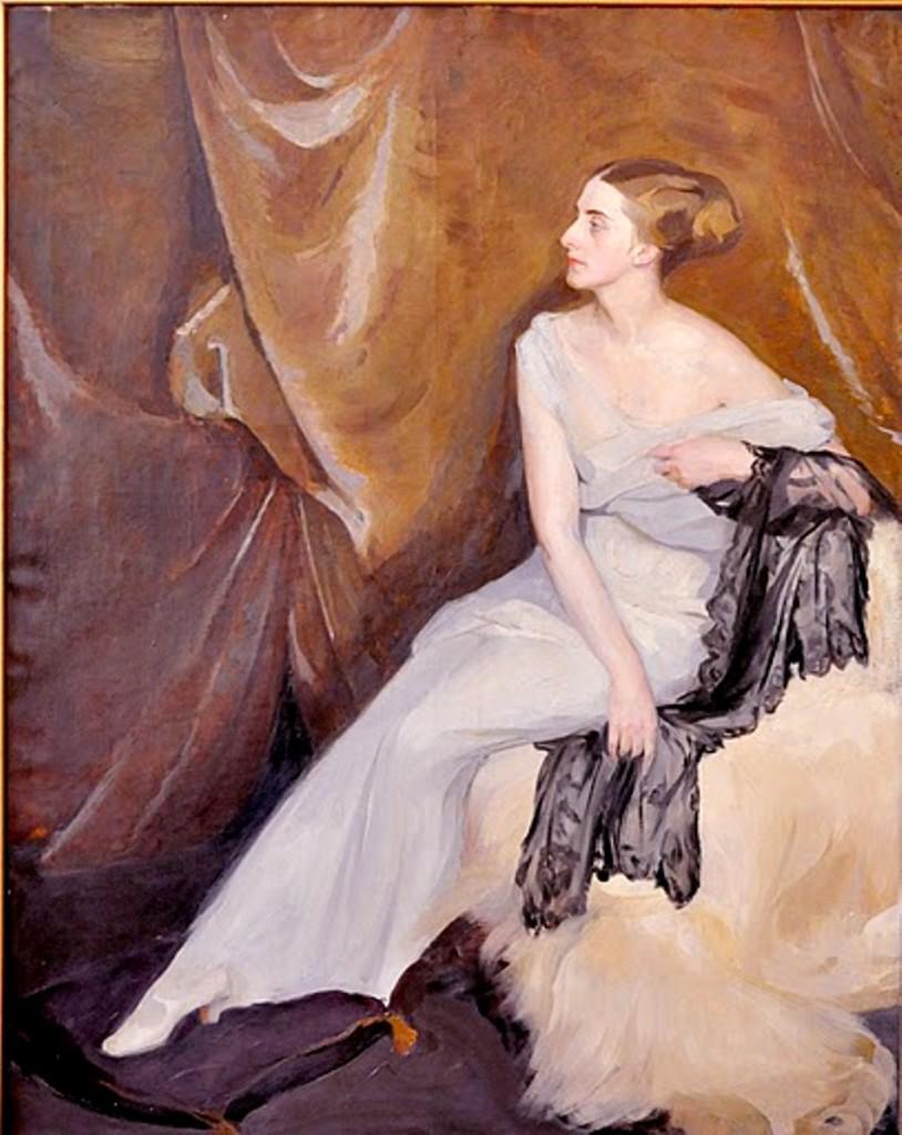Портрет артистки.1910-е. Херсонский худ. муз.