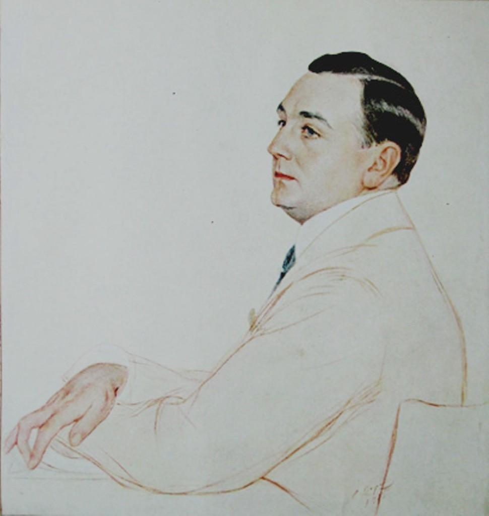 Портрет  Ушкова М.К.1915.