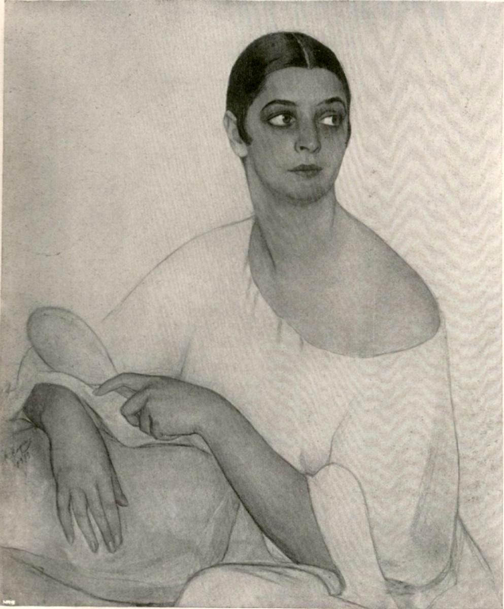 Портрет русской женщины 1919