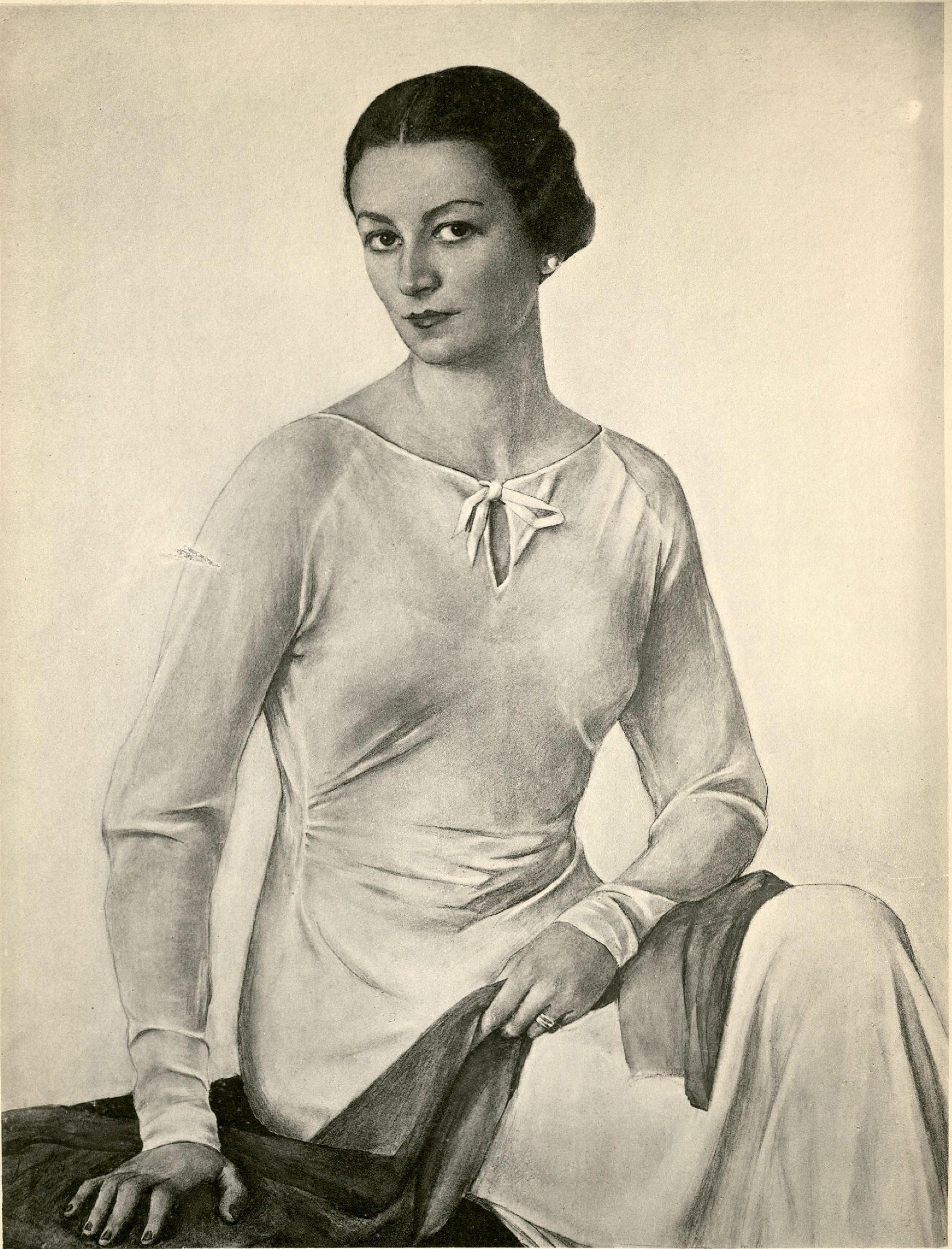 Портрет неизвестной 1934 г.