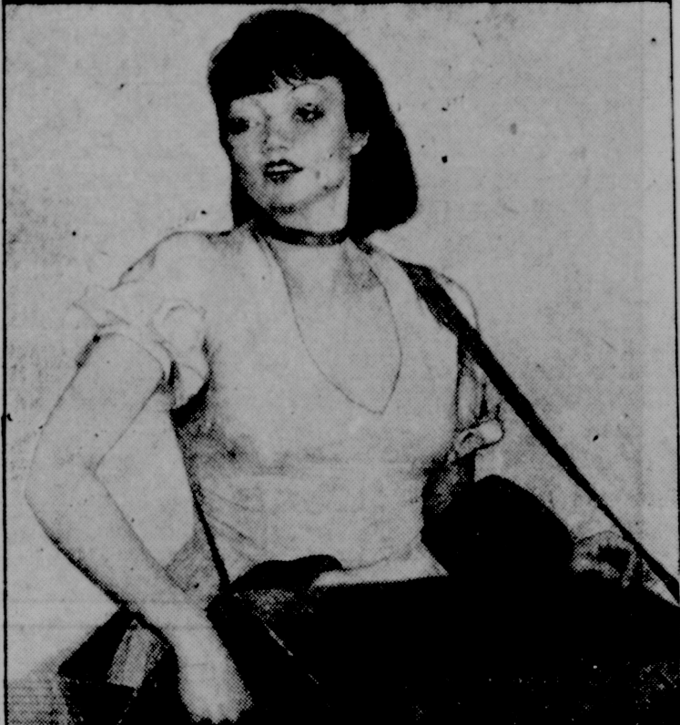 Девица из кафе. До 1937