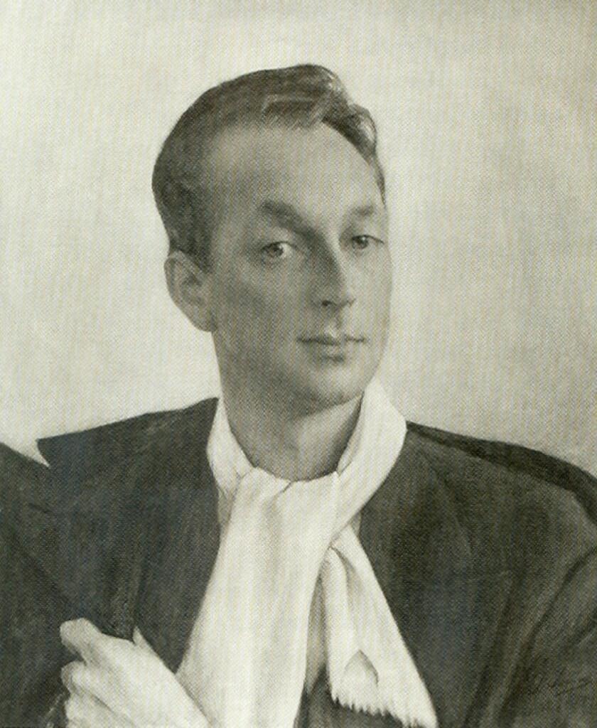 Портрет кн. Игоря Трубецкого 1946
