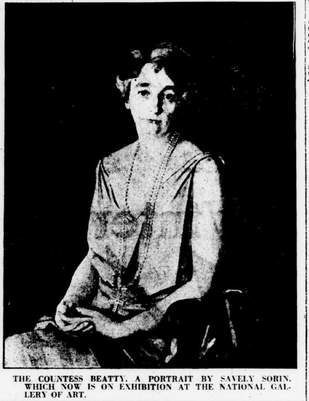 Портрет графини Битти до 1938