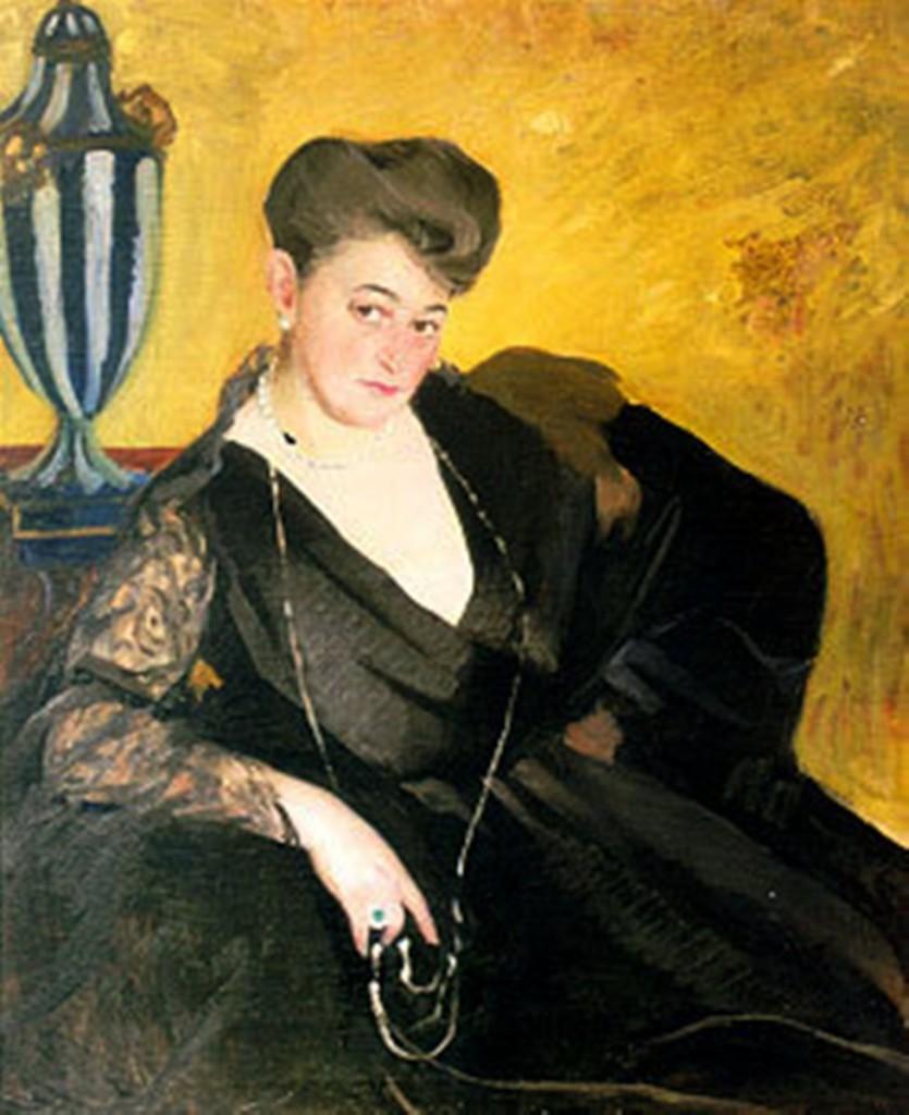 Портрет неизвестной. Середина 1910-х Нижний Новгород ГХМ