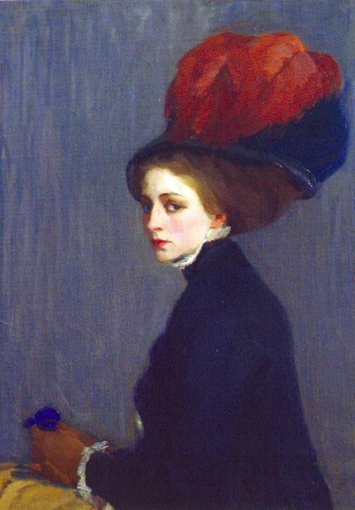 женский портрет1910-е Севастопольский музей им.КРОШИЦКОГО