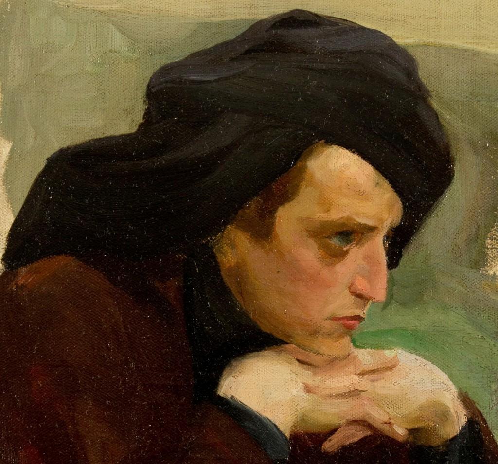 Портрет неизвестного (Рафаил Адыльгейм?)   Севастопольский музей им. Крошицкого