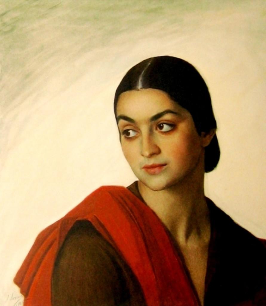 Froiline Bova 1925(портрет грузинской принцессы из рода Дадиани(?)).
